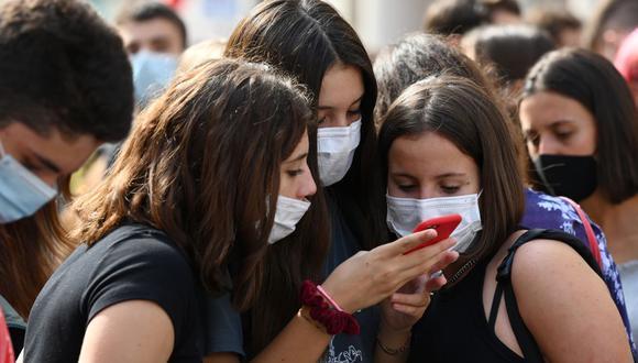 Italia ha ordenado nuevas restricciones para frenar el rebrote del coronavirus. (Foto: Vincenzo PINTO / AFP).