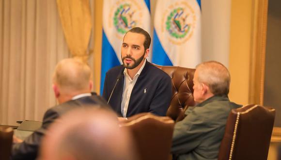 Nayib Bukele, presidente de El Salvador, anuncia cuarentena por coronavirus. (Foto: Twitter @PresidenciaSV)