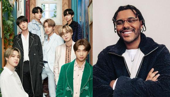 Los Billboard 2021 premiarán lo mejor de la música entre el periodo del 23 de marzo del 2020 al 3 de abril del 2021. Entre los artistas convocados para presentarse en esta gala están la banda BTS y el cantante The Weeknd.(Foto: Instagram / @theweeknd)