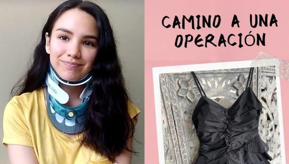 Jennifer Ledesma, natural de Piura, es una joven publicista que actualmente usa un collarín 24/7 a consecuencia de una subluxación atlantoaxial. Actualmente, necesita someterse a una importante y costosa intervención para mejorar su calidad de vida. (Fotos: Difusión)