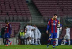 PSG humilló al Barcelona con triplete de Mbappé por los octavos de final de la Champions League
