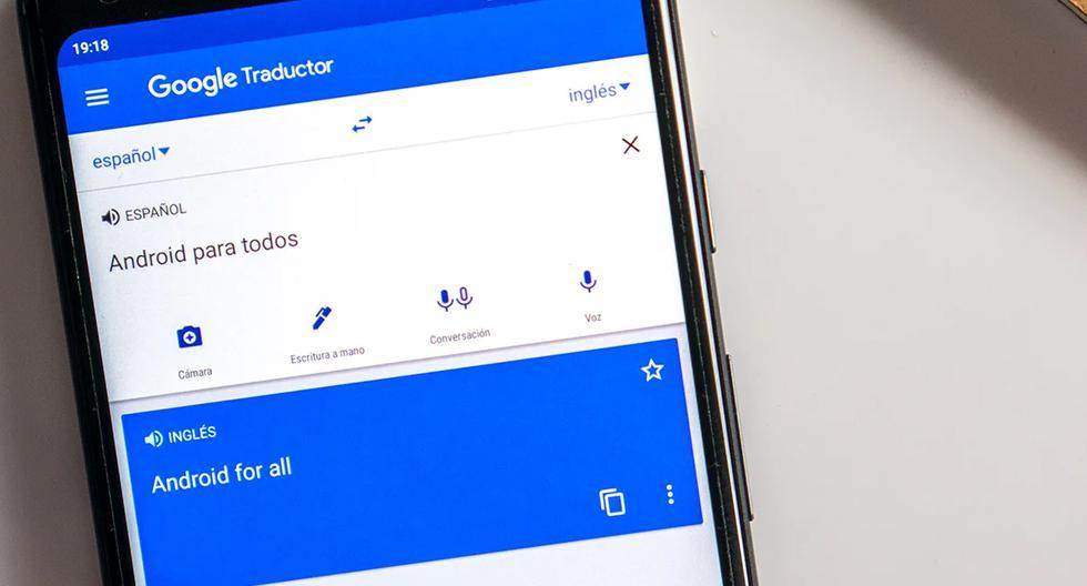 De esta forma es como podrás usar Google Translate sin tener conexión a internet. (Foto: Google)