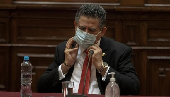 Manuel Merino fue propuesto como vocero de la bancada de Acción Popular en el Congreso. (Foto: GEC)