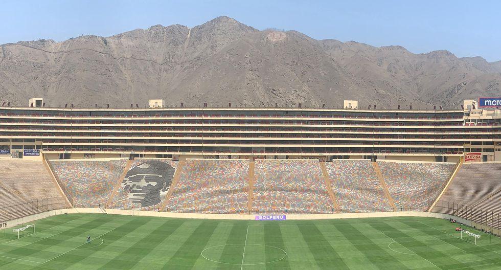 El Estadio Monumental es el que mayor capacidad tiene en el Perú | Foto: EFE
