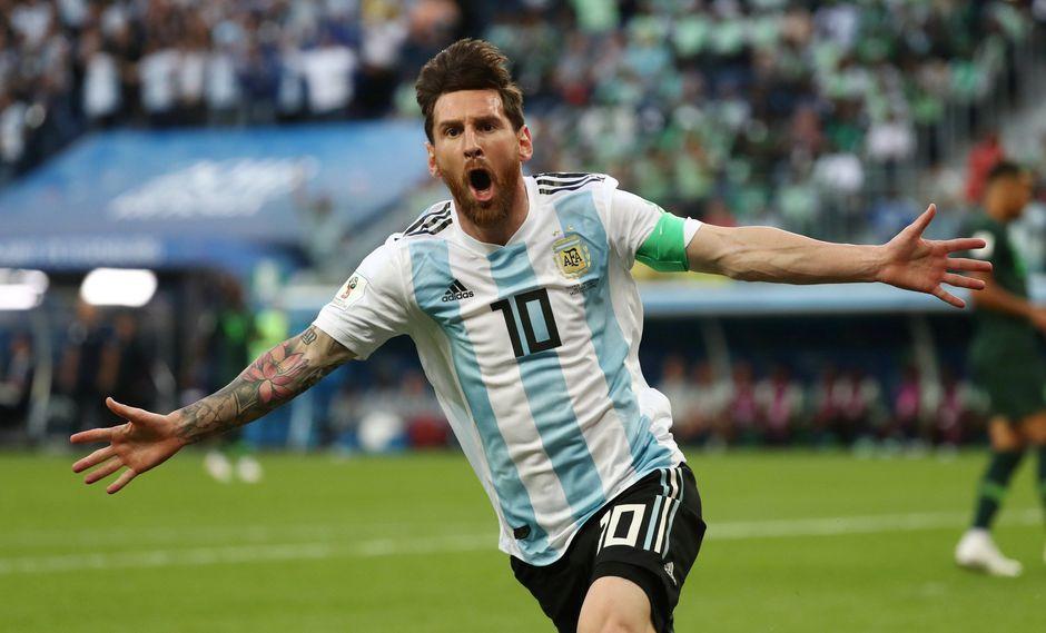 Lionel Messi marcó un golazo en el Argentina vs. Nigeria. (Foto: Reuters)