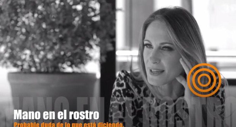 YouTube: analizan los gestos de Denisse Dibós con Melcochita