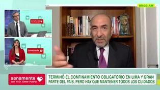 """Dr. Huerta: """"El Perú no cumple guías en salud para el desconfinamiento"""""""