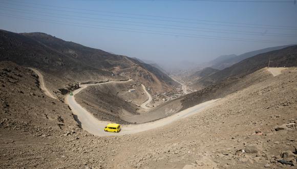 'Pasamayito' es actualmente una trocha que une la zona de Collique, en Comas, y San Juan de Lurigancho. (Foto: Municipalidad de Lima)