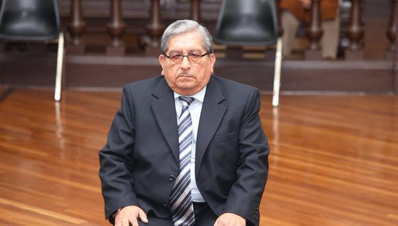 Julio Gutiérrez Pebe cumplía 18 meses de prisión preventiva por el Caso Los Cuellos Blancos del Puerto desde octubre del 2018. (Foto: Poder Judicial)