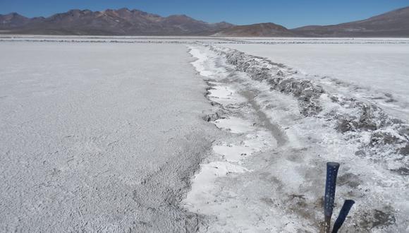 Hallan litio de clase muy alta y media en Puno y Cusco en las áreas de prospección (Foto: Ingemmet)