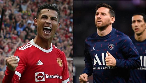 Cristiano Ronaldo regresó esta temporada al Manchester United, mientras que Lionel Messi dejó el Barcelona y fue fichado por el PSG.