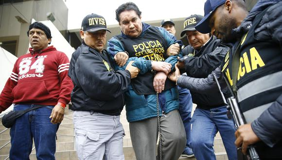 Burgos fue llevado a la División de Investigación de Secuestros, donde se formó el equipo que lo capturó tras dos años de estar prófugo. (Foto: GEC)