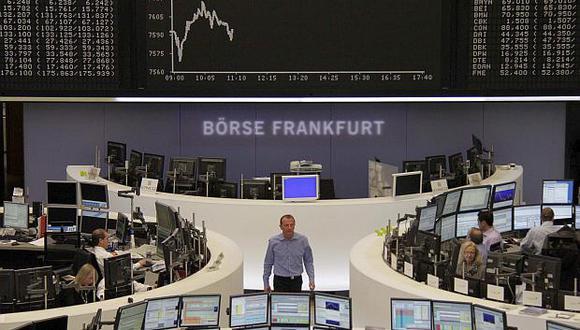 En Frankfurt, el índice DAX 30progresó 0.50% hasta los 12,219.02 puntos. (Foto: Reuters)