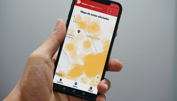 Los datos a brindar incluyen el ofrecido por el sistema de GPS (geolocalización) de los celulares y las respuestas al test de triaje incluidos en las aplicaciones destinadas a ello (Perú en tus manos).