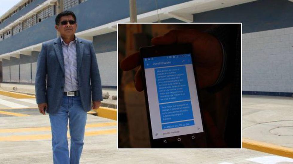 """Alcalde de Laredo recibió esta amenaza: """"Te teñiré de sangre"""" - 1"""