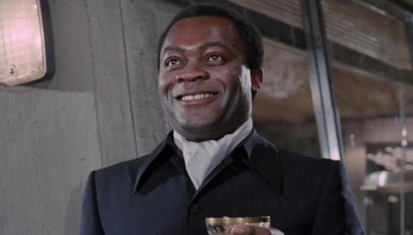 """Yaphet Kotto interpretó al antagonista de la película """"Vive y deja morir"""" de James Bond. (Foto: EON Productions)"""