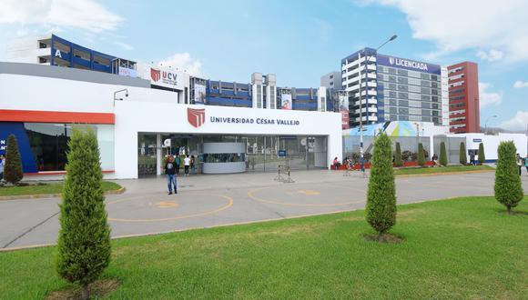 La Universidad César Vallejo (UCV), del candidato presidencial César Acuña, fue una de las más beneficiadas con las inafectaciones tributarias. (Foto: UCV)