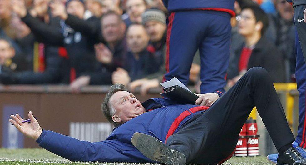Louis van Gaal y su show en el triunfo del Manchester United - 7