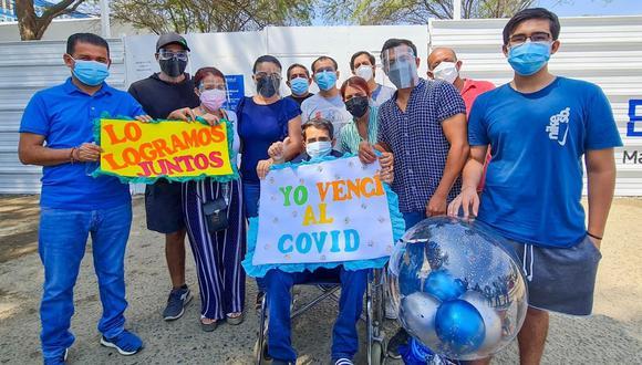 Corazón Serrano anunció que Lorenzo Guerrero venció al COVID-19, tras pasar un mes en el hospital. (Foto: Facebook Corazón Serrano).