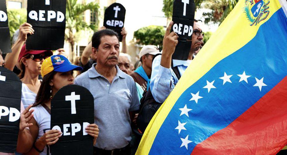 ONU publica informe global sobre homicidios y allí Venezuela aparece como el país más violento de Sudamérica. (Foto: AFP)