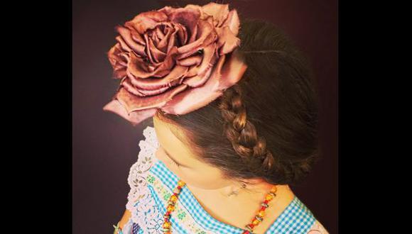 Thalía viste a su hija como Frida Kahlo con ropa de su infancia