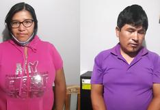 Arequipa: pareja es detenida con 30 kilos de marihuana en agencia de transportes   VIDEO