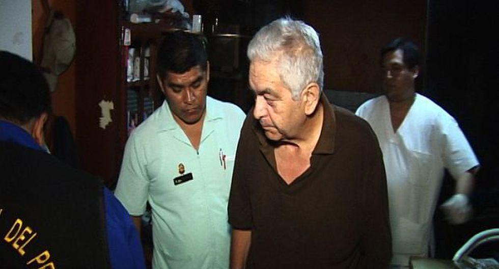 Movadef: dirigente Manuel Fajardo cumple arresto en hospital - 1