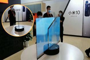 China: conoce el primer televisor transparente