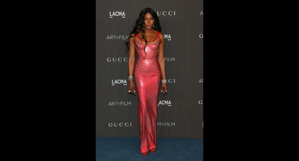 Campbell es una de las top models más reconocidas de los 90.. (Foto: AFP)