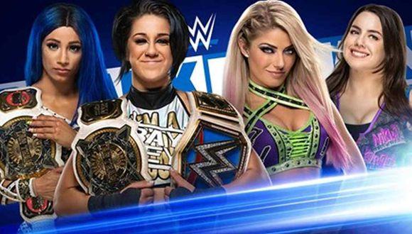 Sigue las incidencias de SmackDown este viernes 10 de julio. (Foto: WWE)