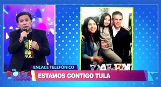 "Tula Rodríguez se pronuncia tras la muerte de Javier Carmona: ""Tengo que ser fuerte por mi hija"""