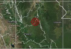 Huánuco: sismo de magnitud 4 se sintió esta mañana en la provincia dePuerto Inca
