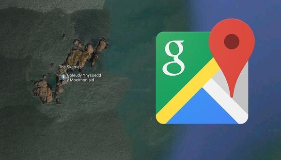 ¿Sabes qué es este extraño lugar que ha sido hallado en Google Maps? Al parecer se trataría de un error de la app. (Foto: Google)