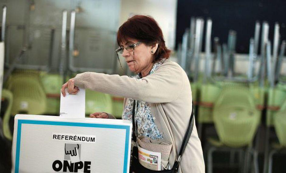 La bicameralidad fue la única reforma rechazada en el referéndum. (Foto: Hugo Pérez)