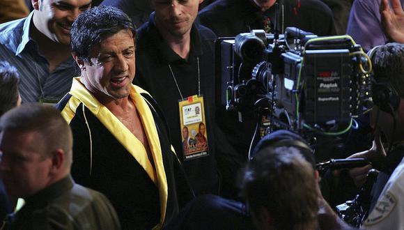 """Sylvester Stallone anunció documental basado en la primera película de """"Rocky"""". (Foto: AFP)"""