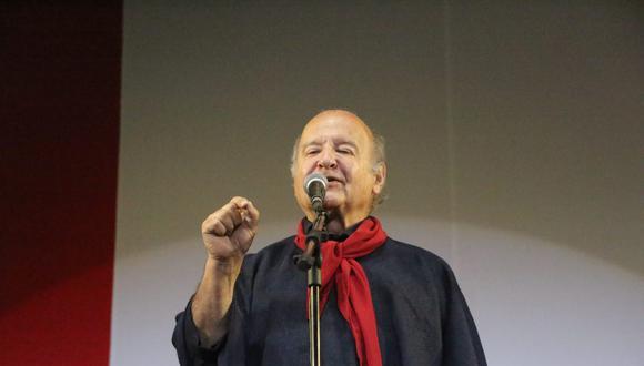 """Hernando de Soto dijo preferir que """"avancen las cifras"""" del conteo de la ONPE. (Foto: Cortesía Leonardo Cuito)"""