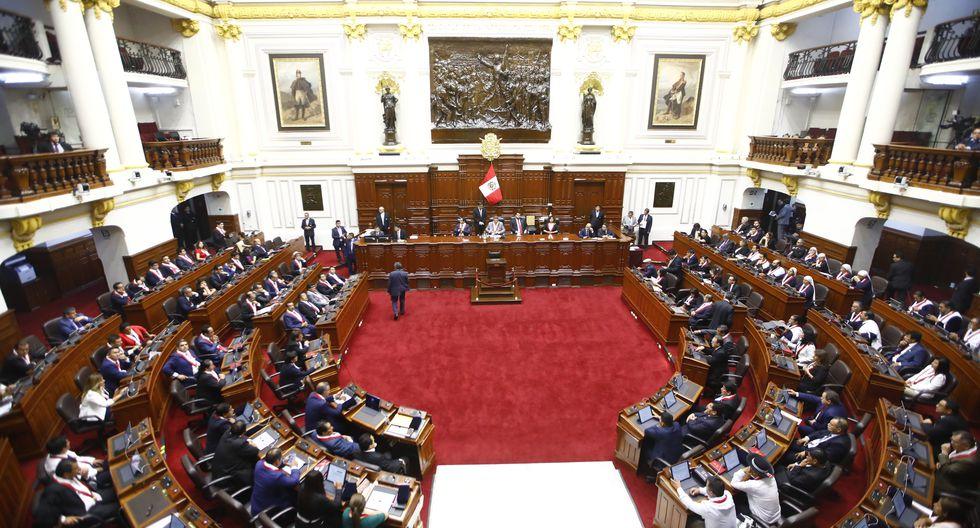 Tras la elección de Manuel Merino de Lama como nuevo presidente del Congreso, se llevó a cabo un pleno que se prolongó hasta la madrugada. (Foto: Congreso)