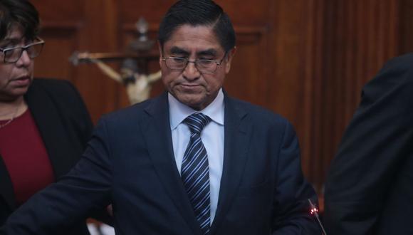 El exjuez supremo César Hinostroza consideró que, de ser extraditado al Perú, no tendrá un proceso justo | Foto: El Comercio / Archivo