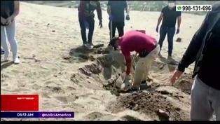 Lurín: hallan restos óseos que serían de hombre desaparecido en diciembre pasado