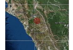 Cajamarca: sismo de magnitud 3,6 se registró en Hualgayoc