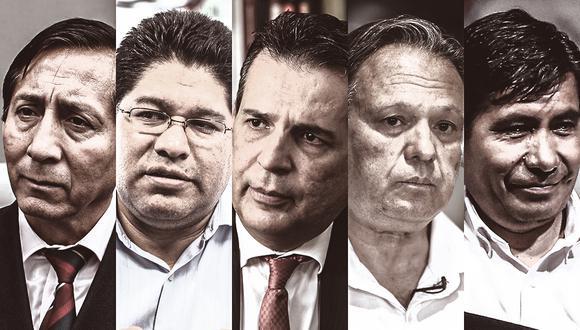 El 46% de los integrantes de la Comisión de Constitución no están inscritos en el Registro de Organizaciones Políticas en el Jurado Nacional de Elecciones. (Composición: El Comercio)