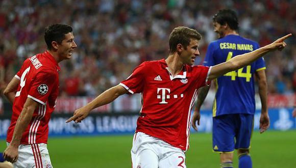 Bayern Múnich goleó 5-0 a Rostov en debut de Champions League