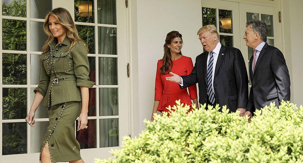 Donald Trump y Mauricio Macri, juntos en la Casa Blanca - 4
