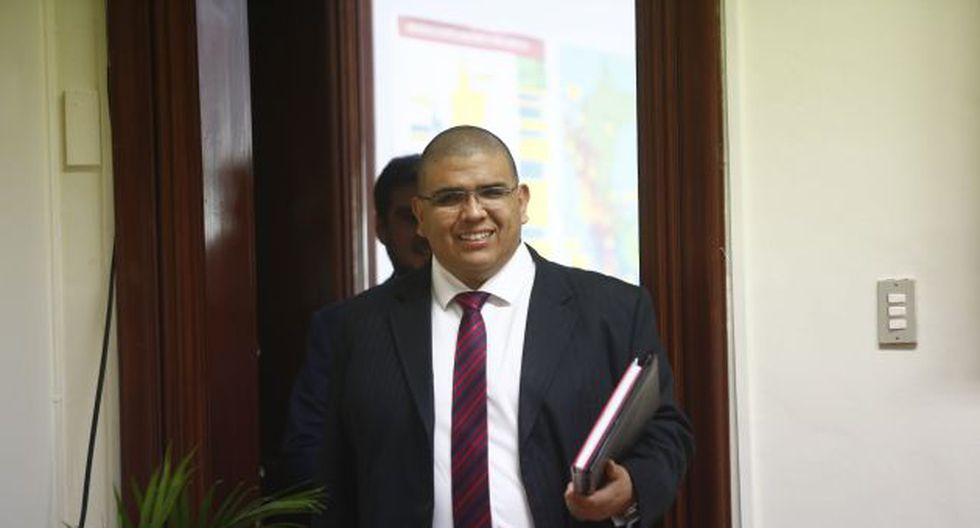 Fernando Castañeda, ministro de Justicia, dijo que el Gobierno explicará al nuevo Congreso la constitucionalidad de sus decretos de urgencia. (Foto: GEC)