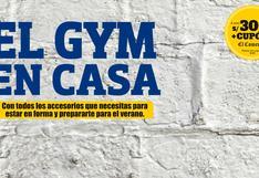 Gym en casa: la oportunidad para entrenar en casa y equiparnos completamente