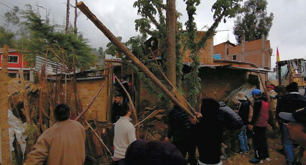 La operación estuvo encabezada por el alcalde de Andahuaylas, Abel Gutiérrez Buezo (Foto: Carlos Peña)