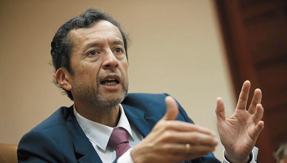 David Tuesta, ex ministro de Economía y Finanzas. (Foto: Manuel Melgar / GEC)