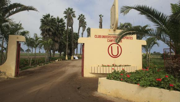 Esta sede de Universitario se encuentra en el distrito de Lurín. (Foto: El Comercio)