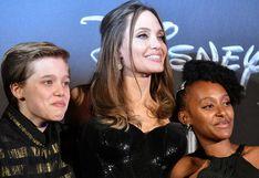 "Angelina Jolie califica a su hija Zahara como ""una extraordinaria mujer africana"""