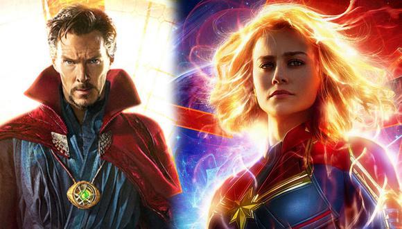 """""""Captain Marvel"""": Doctor Strange aparecería en la película según teoría de """"Avengers: Endgame"""" (Foto: Marvel Studios / Montaje)"""